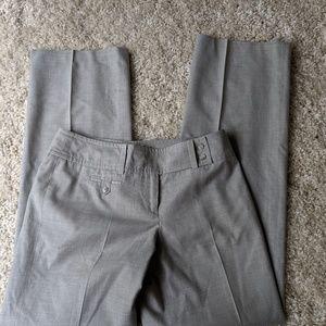 Ann Taylor petites Signature Fit gray dress pants